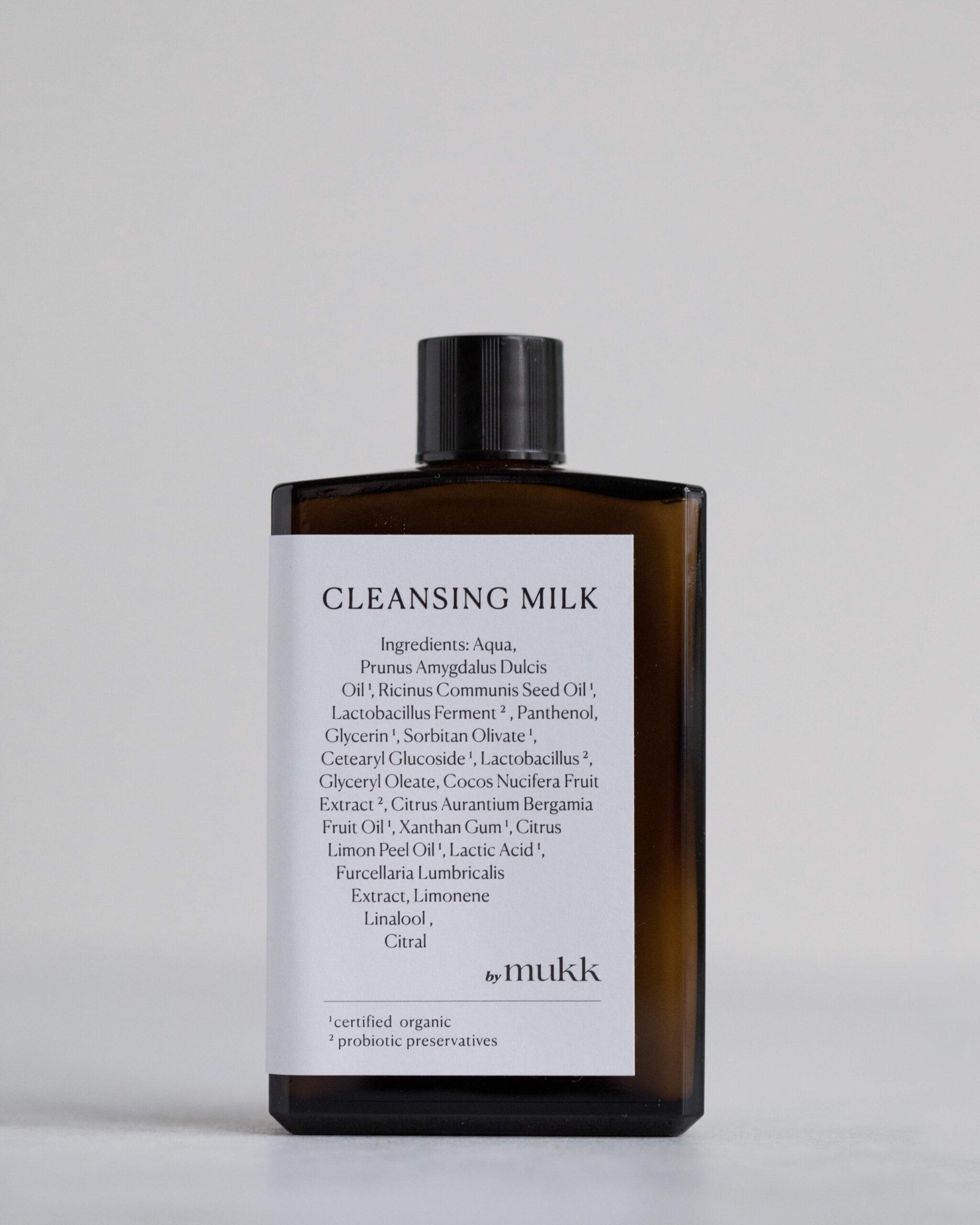 by mukk Cleansing Milk